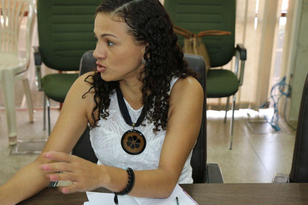 Consultora da Unesco, Gildene Carvalho. – Foto: Arquivos Setas/ Governo do Tocantins